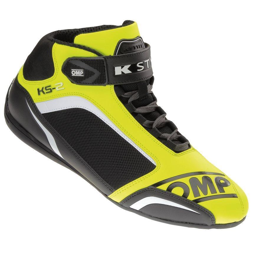 【海外輸入】 ☆【OMP】KS-2カート UK 44 ブーツ Eur フルロイエロー/ブラック/ホワイト UK 9.5/ Eur 44, カホクグン:0aceaf8b --- airmodconsu.dominiotemporario.com