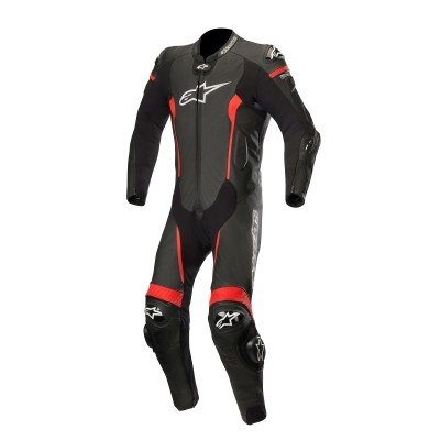 偉大な ☆【Alpinestars】Alpinestars Missile 1 Bag Piece Leather Motorcycle Eur Suit | - Tech Air Bag Compatible Black/ Red | UK 38/ Eur 48, みとこんぼでぃ:c969eaec --- airmodconsu.dominiotemporario.com