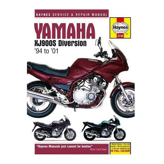 ☆【Haynes】ワークショップマニュアルヤマハXJ900S迂回