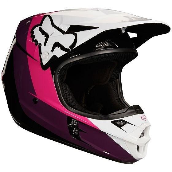 人気が高い ☆【Fox】クロージングV1 HALYNモトクロスヘルメット - - ブラック/ピンク XL(61cm-62cm), 長柄町:8b49a54c --- airmodconsu.dominiotemporario.com