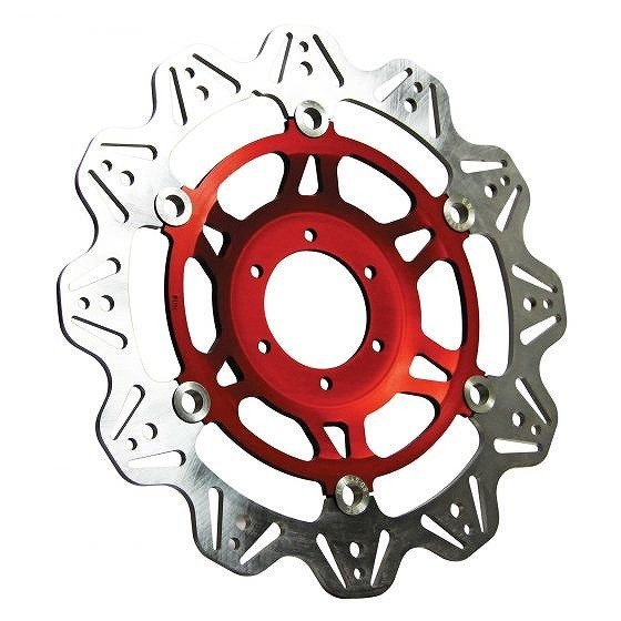 ☆【EBC】ブレーキビーシリーズレッドハブオートバイブレーキディスク-VR662赤