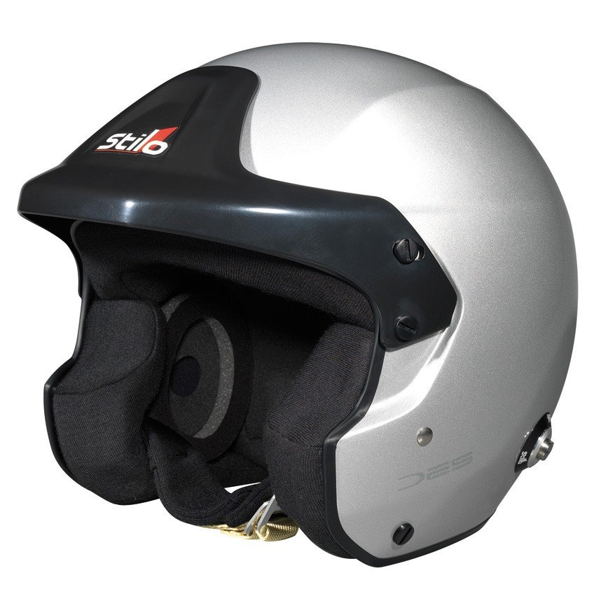 ☆【Stilo】トロフィーDES JETヘルメット サイズ M(57cm)HANS CLIP 有り