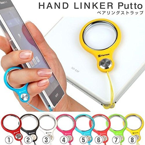 HandLinker Putto ハンドリンカー プット ベアリング モバイル 携帯ストラップ フィンガーストラップ 落下防止 (ブラック) kumagayashop 02