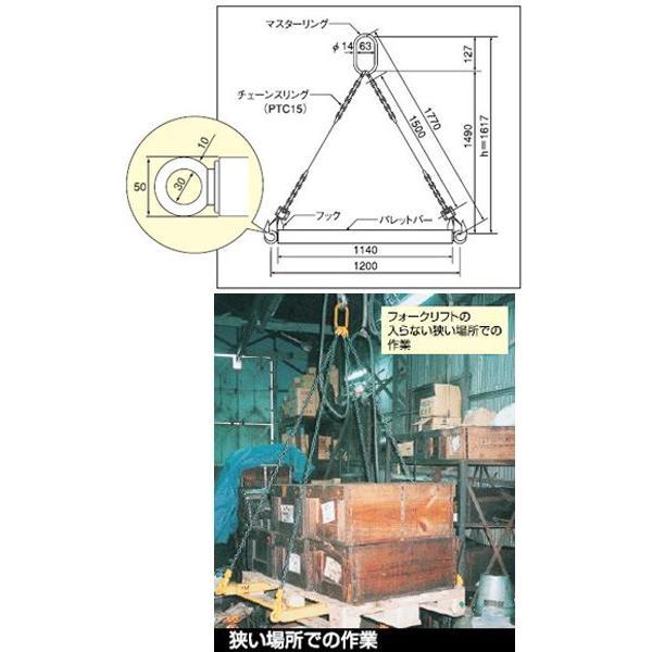 スリーエッチ(H.H.H.)PTS15 パレットツール 1.5TON 標準セット ●代引(着払い)不可商品です。
