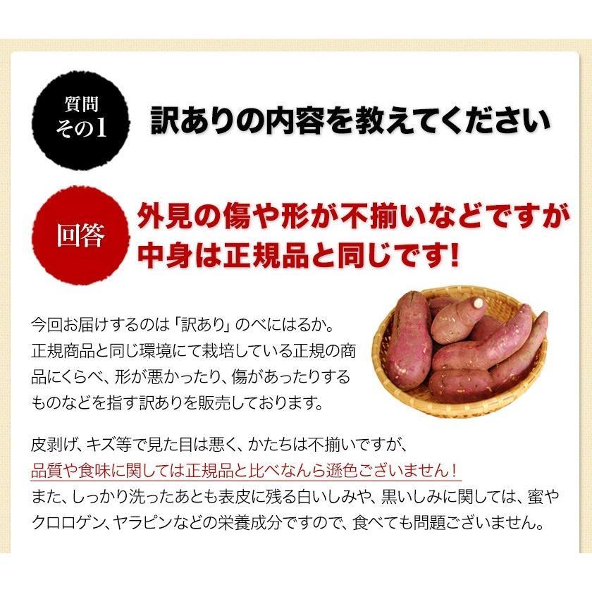 訳あり 紅はるか 1kg 熊本県産 送料無料 2セットで1セット分おまけ 大中小サイズ混合(不選別) さつまいも 3-7営業日以内に出荷予定(土日祝日除く)|kumamotofood|14