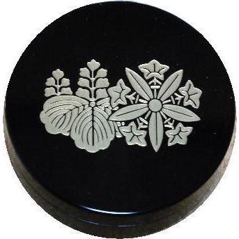 香合 切立 香道具 お香 焼香 日本製 仏具 曹洞宗両山紋2.6寸|kumano-butu