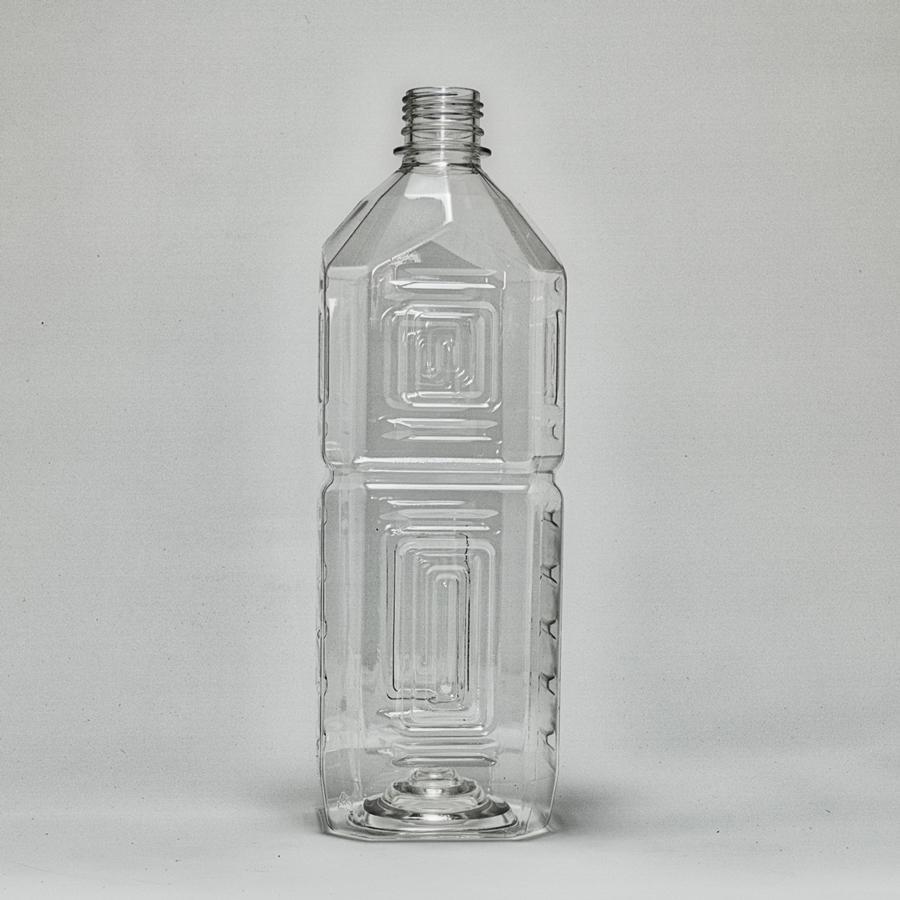 ペットボトル容器 角 1L×50本 超人気 28mmキャップ付き 人気 おすすめ
