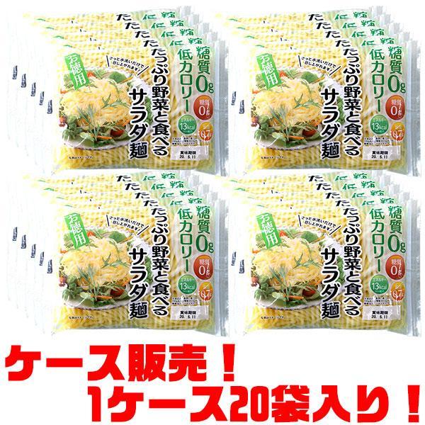 アクツ お徳用たっぷり野菜と食べるサラダ麺 贈呈 ×20入り 250g 海外輸入