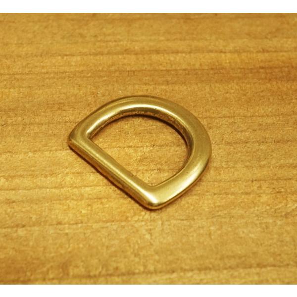 15mm 真鍮鋳物 犬カン 爆買い送料無料 Dカン kume1316-15 無料 真鍮生地