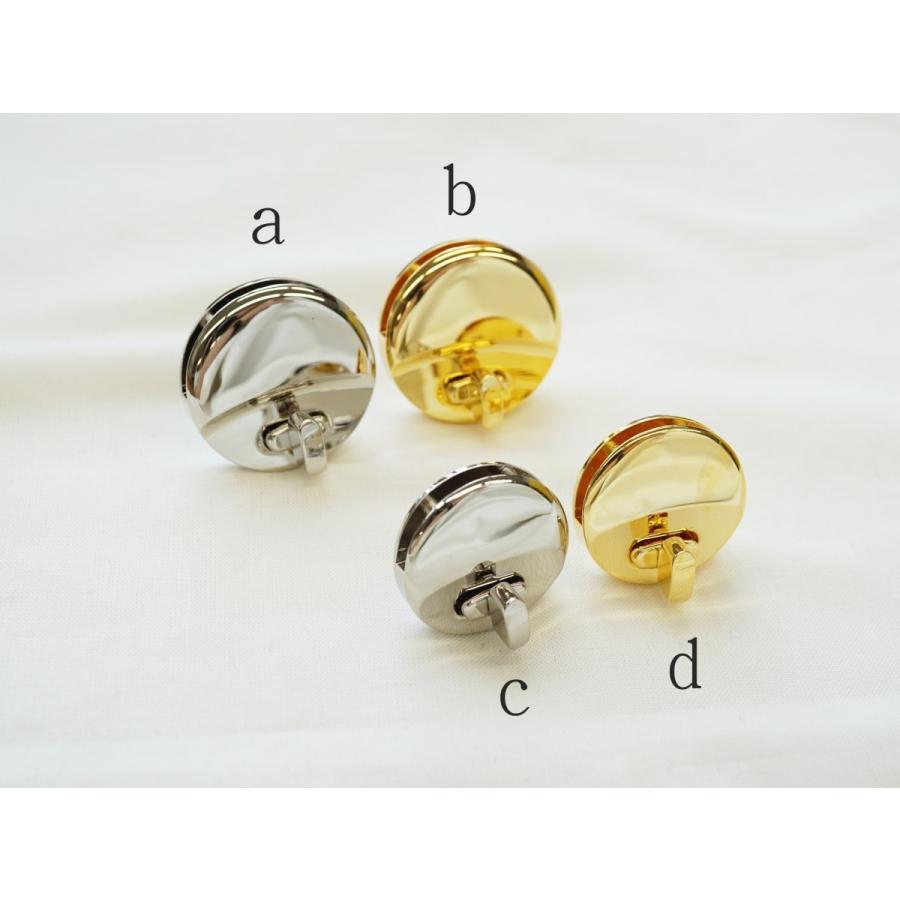 ヒネリ トレンド バッグ金具 2020 サイズ2種 ニッケル kume664 ゴールド