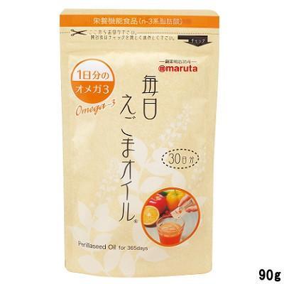 賞味期限2020年11月23日まで マルタ 毎日えごまオイル 90g ( 3g × 30袋 )- 定形外送料無料 - kumokumo-square