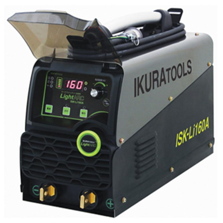 育良精機(イクラ) ポータブルバッテリー溶接機 ISK-Li160A (納期問合せ)