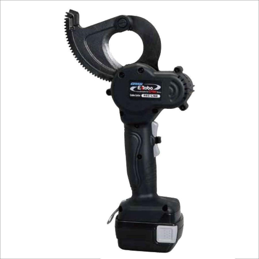 泉精器 充電油圧式圧着・圧縮工具 REC-Li50