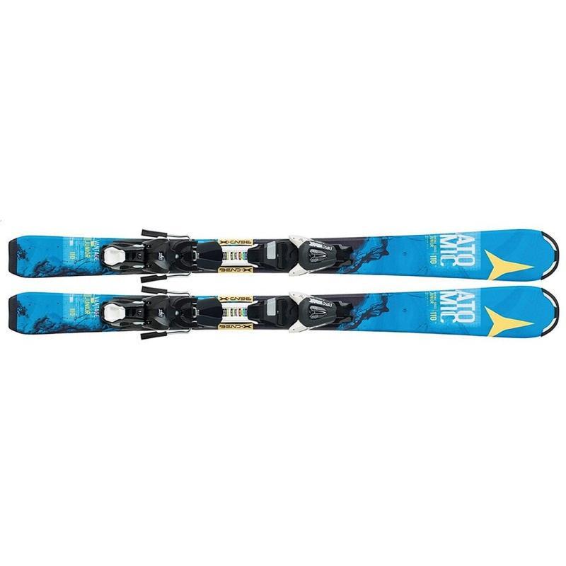 送料無料 ATOMIC スキー+ビンディングセット VANTAGE JR III & EZY 5 AA0025450