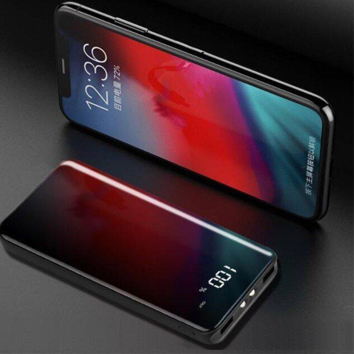 【翌日発送】モバイルバッテリー 30000mAh 大容量 2.1A急速充電 バッテリー スマホバッテリー  iPhone /Android各種対応 携帯充電器 残量表示 PSEマーク|kunyisoushop|06