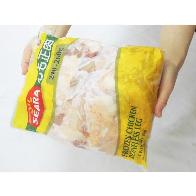 """ブラジル産 """"鶏もも肉"""" 約2kg いくつあっても困らない家庭の必需品 とりモモ/トリもも/トリモモ/鳥モモ肉/ kurashi-kaientai 03"""