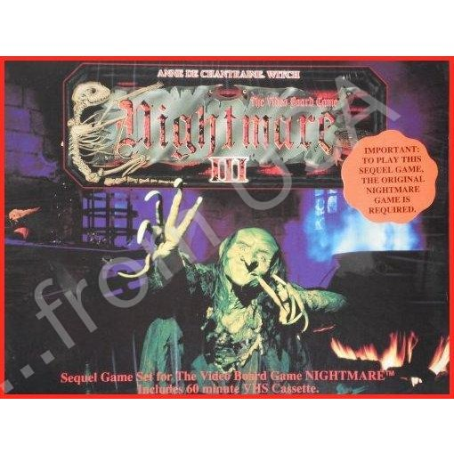 Nightmare III The Video ボードゲーム - Annie De Chantrae Witch
