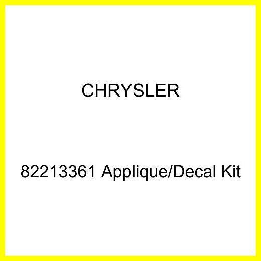 Chrysler Genuine 82213361 Applique//Decal Kit