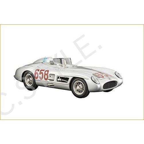 CMC-クラスic モデル カーs USA Mercedes-ベンツ 300 SLR 1955 Mille Miglia 658 Vehicle
