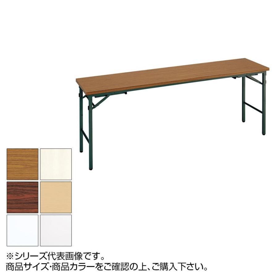 送料無料 代引き・同梱不可 トーカイスクリーン 折り畳み座卓兼用会議テーブル 共縁 YT-156Z アイボリー