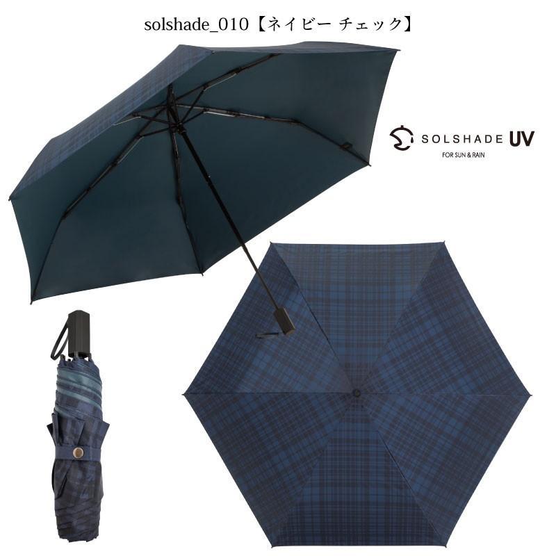 日傘 折りたたみ傘 solshade メンズ 晴雨兼用 完全遮光 超軽量 おしゃれ UVカット 100% 遮光 遮熱 折りたたみ 傘 コンパクト 丈夫 耐風 男性用 ネイビー kurashikan 13