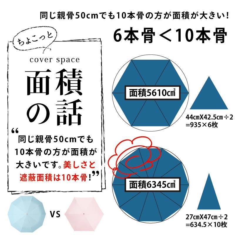日傘 uvカット 100%完全遮光 折りたたみ 晴雨兼用 10本骨傘 軽量 コンパクト 4段伸縮 母の日 UPF50+ UVカット 暑さ対策 熱中症対策 紫外線カット ソルシェード|kurashikan|13