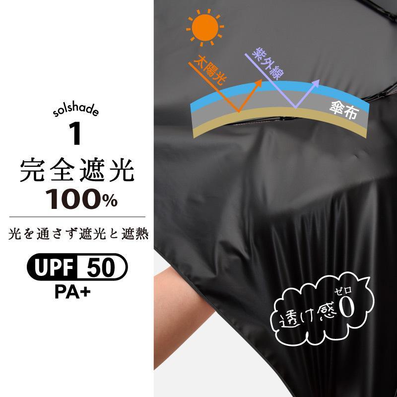 折りたたみ 完全遮光 日傘 メンズ 遮光率100% UV遮蔽率99.9%以上 10本骨 遮光 遮熱 4段 折り畳み かさ 傘 耐風 丈夫 おしゃれ 男性 紳士用 暑さ対策 熱中症対 kurashikan 09