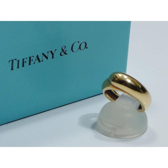 【返品?交換対象商品】 Tiffany & Co ティファニー K18 指輪 リング 10号 18金, s.s shop 4798cf01