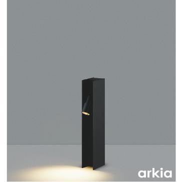 コイズミ照明器具 屋外灯 ポールライト AU49056L 自動点灯無し LED