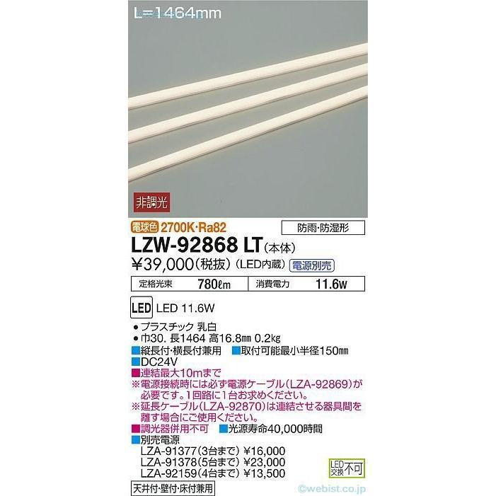 大光電機照明器具 屋外灯 その他屋外灯 LZW-92868LT 電源別売 LED≪即日発送対応可能 在庫確認必要≫