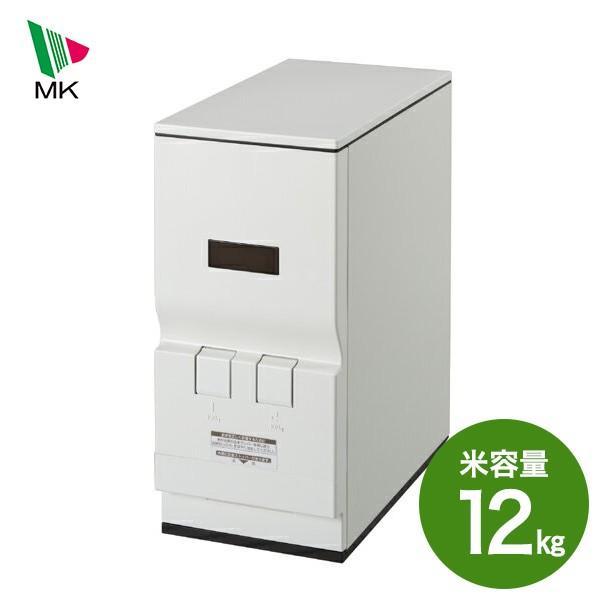 米びつ エムケー ライスエース 激安通販ショッピング RC-12W 12kg スリム 当店限定販売 同梱不可