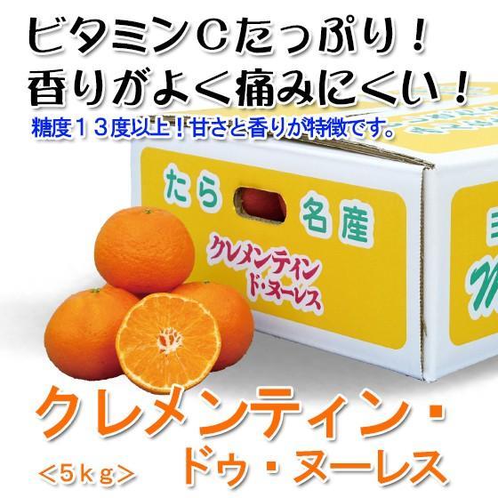 【みかん】クレメンティン ドゥ・ヌーレス 家庭用5kg箱  |kureme