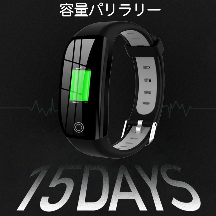 スマートウォッチ 日本語 iphone 対応 2019モデル最新 android 血圧 レディース メンズ 防水LINE対応 腕時計 スポーツ 時計|kuri-store|13
