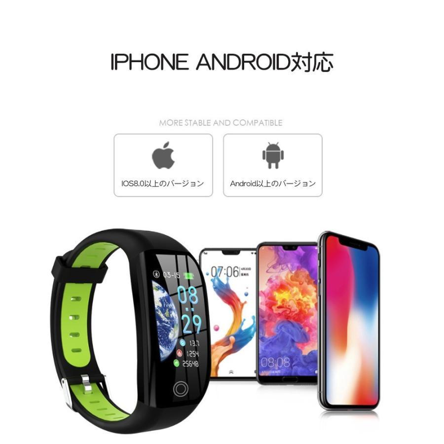 スマートウォッチ 日本語 iphone 対応 2019モデル最新 android 血圧 レディース メンズ 防水LINE対応 腕時計 スポーツ 時計|kuri-store|14