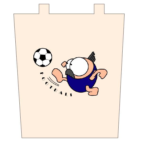 サッカー トートバックM マリオッチオリジナルイラスト|kuriten|02