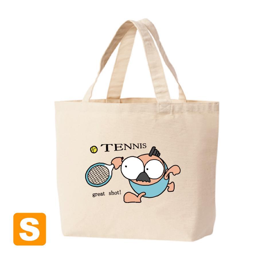 テニス トートバックS マリオッチオリジナルイラスト|kuriten