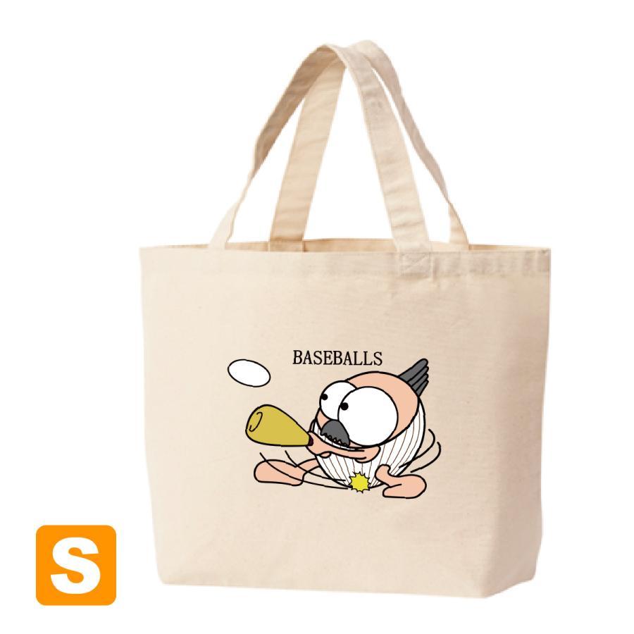 野球 トートバックS マリオッチオリジナルイラスト kuriten