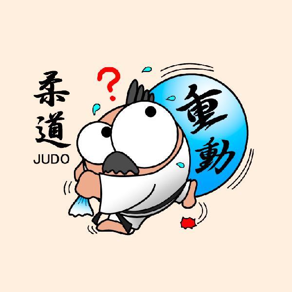 柔道 トートバックS マリオッチオリジナルイラスト kuriten 03