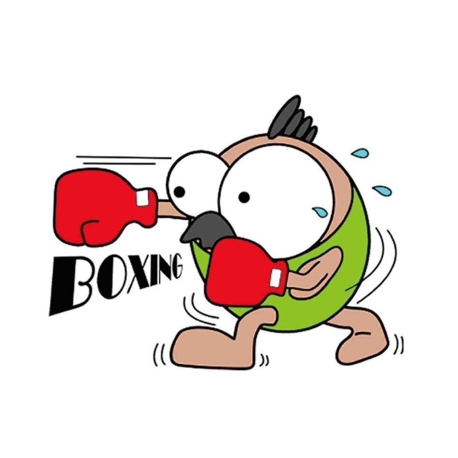 洗って何度でも使える クリエーターズマスク ユニーク な スポーツキャラクター イラスト プリント ボクシング|kuriten|02