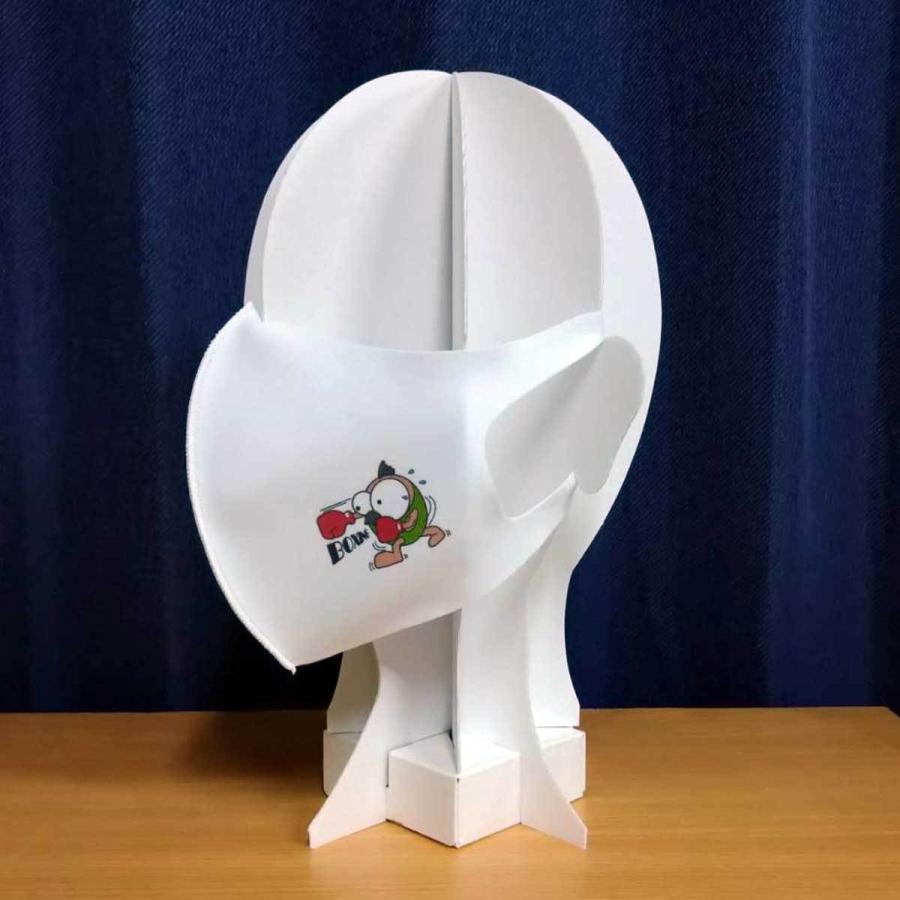 洗って何度でも使える クリエーターズマスク ユニーク な スポーツキャラクター イラスト プリント ボクシング|kuriten|04