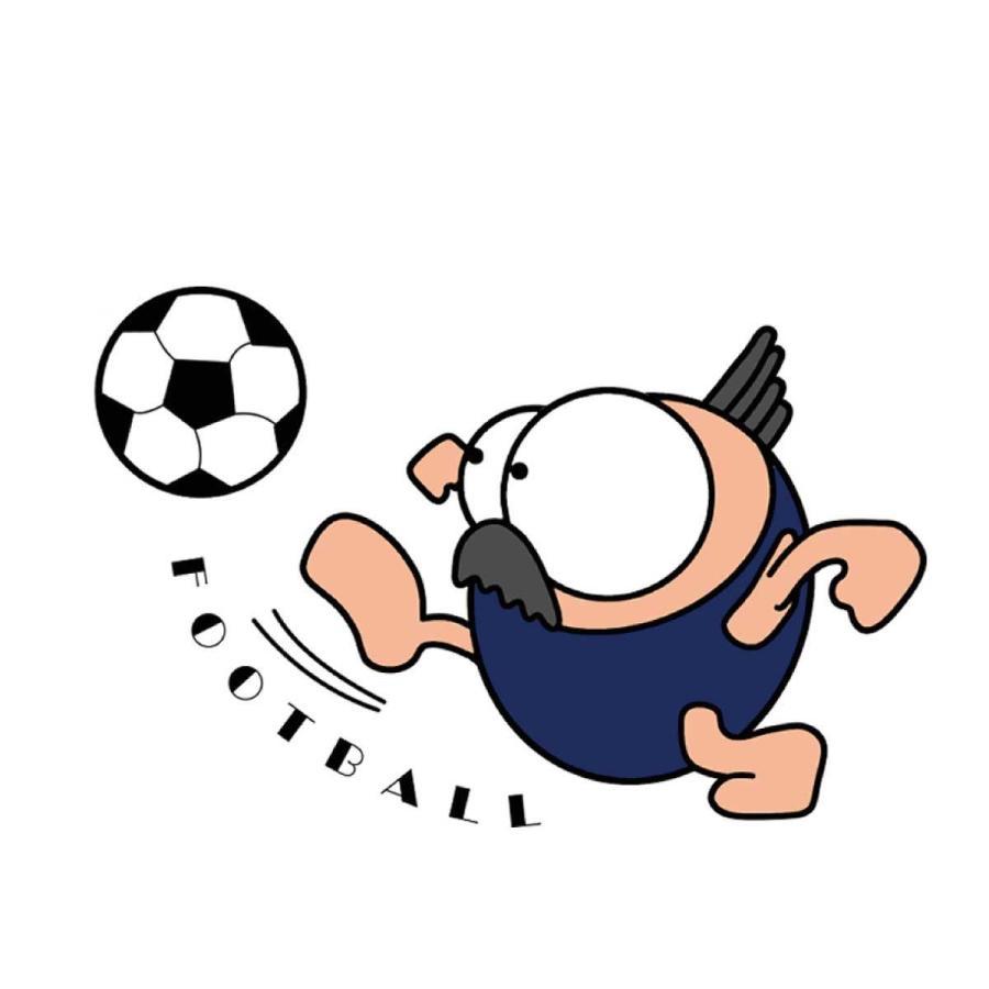 洗って何度でも使える クリエーターズマスク ユニーク な スポーツキャラクター イラスト プリント サッカー|kuriten|02
