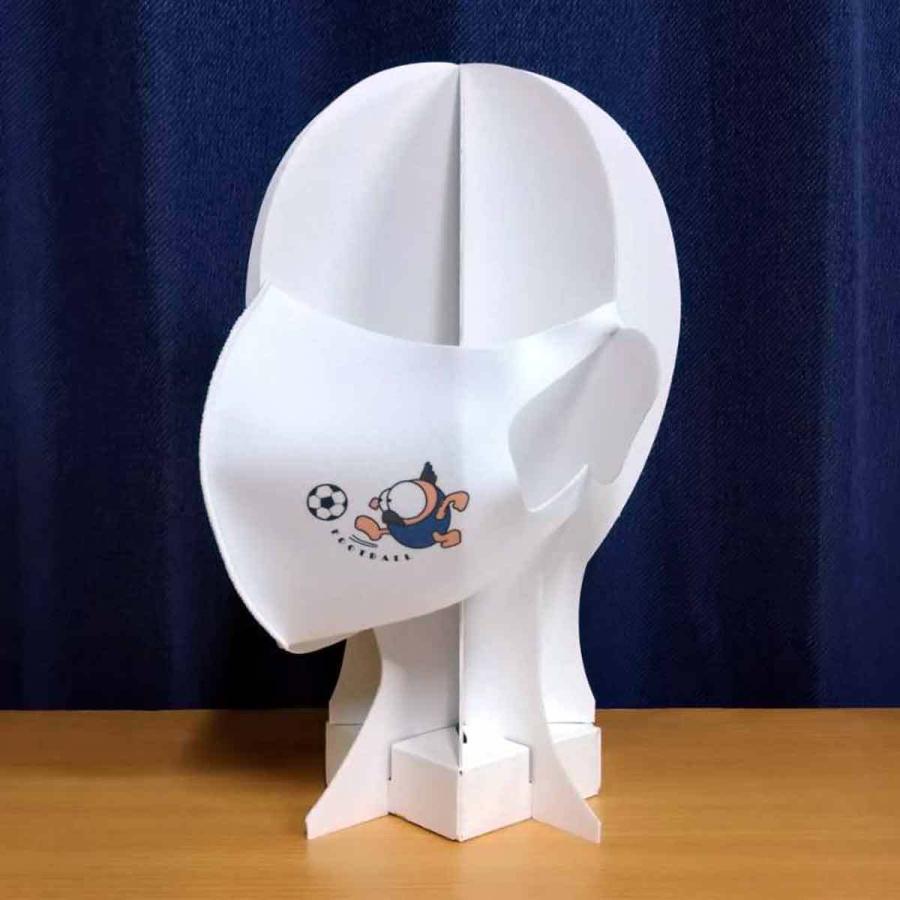 洗って何度でも使える クリエーターズマスク ユニーク な スポーツキャラクター イラスト プリント サッカー|kuriten|04