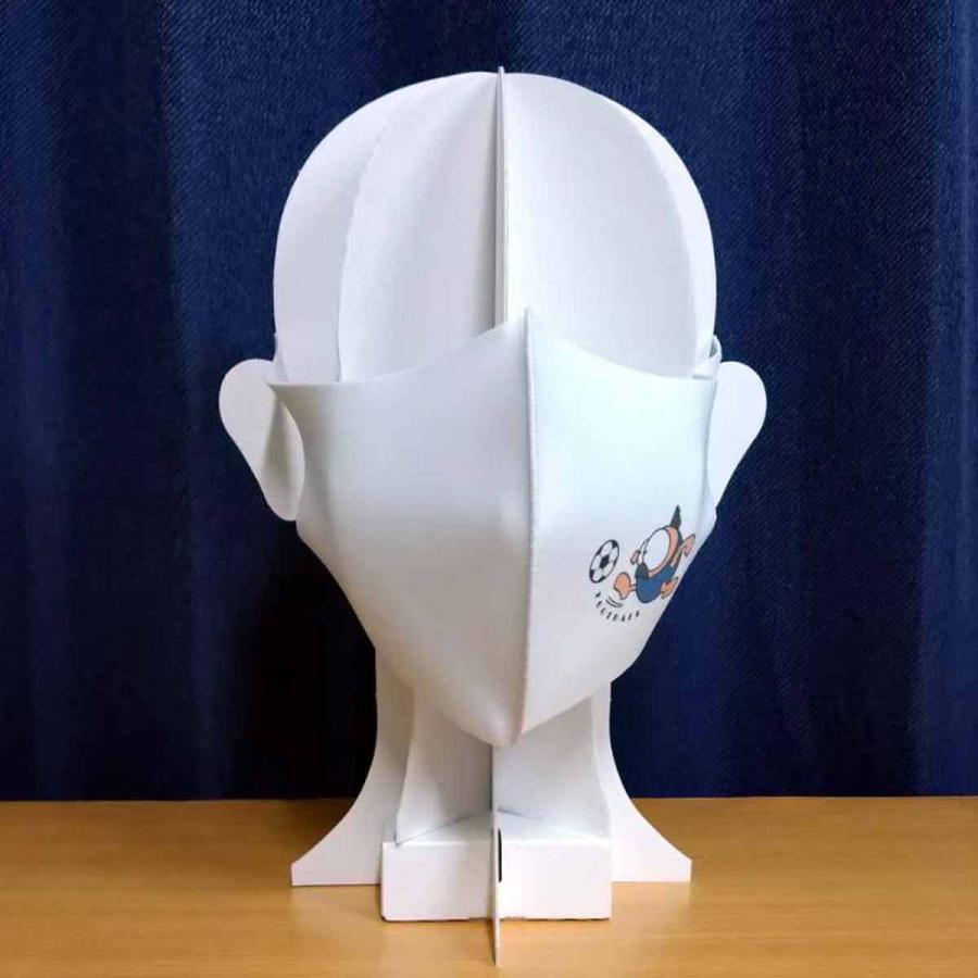 洗って何度でも使える クリエーターズマスク ユニーク な スポーツキャラクター イラスト プリント サッカー|kuriten|05