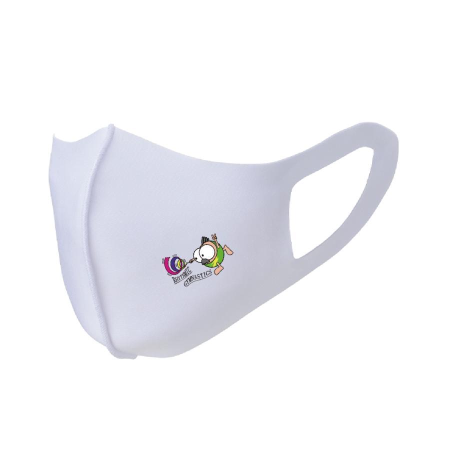 洗って何度でも使える カバー マスク ユニーク な スポーツキャラクター イラスト プリント 新体操