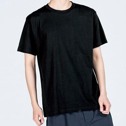 あの空へ 黒 おかしなせかい イラストプリント 半袖 Tシャツ kuriten 04