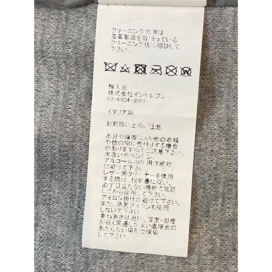 エンメティ EMMETI / メンズ / レザー / Channing カニング / おすすめ 人気 正規 販売店 取扱店 /革ジャン 春夏(グレー) kuriya-house 12