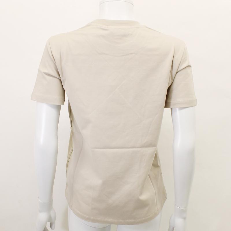 MSGM エムエスジーエム / 日本限定モデル (ベージュ×ゴールド) MDM60J / シャツ レディース Tシャツ 筆書き ロゴ / おしゃれ kuriya-house 04
