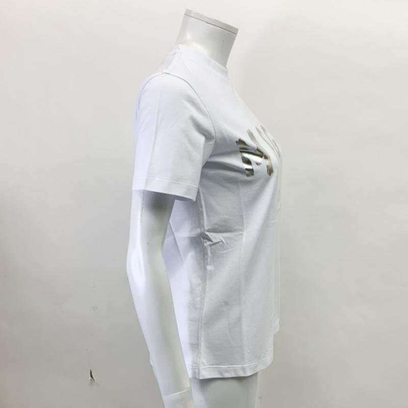 MSGM エムエスジーエム / 日本限定モデル (ホワイト×シルバー) MDM60J / シャツ レディース Tシャツ 筆書き ロゴ / おしゃれ kuriya-house 03