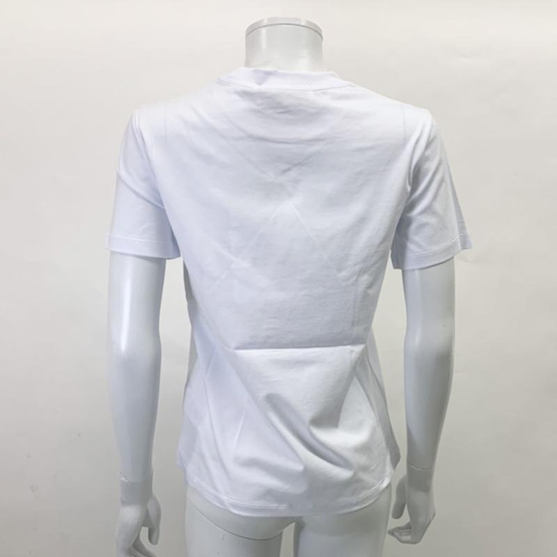 MSGM エムエスジーエム / 日本限定モデル (ホワイト×シルバー) MDM60J / シャツ レディース Tシャツ 筆書き ロゴ / おしゃれ kuriya-house 04