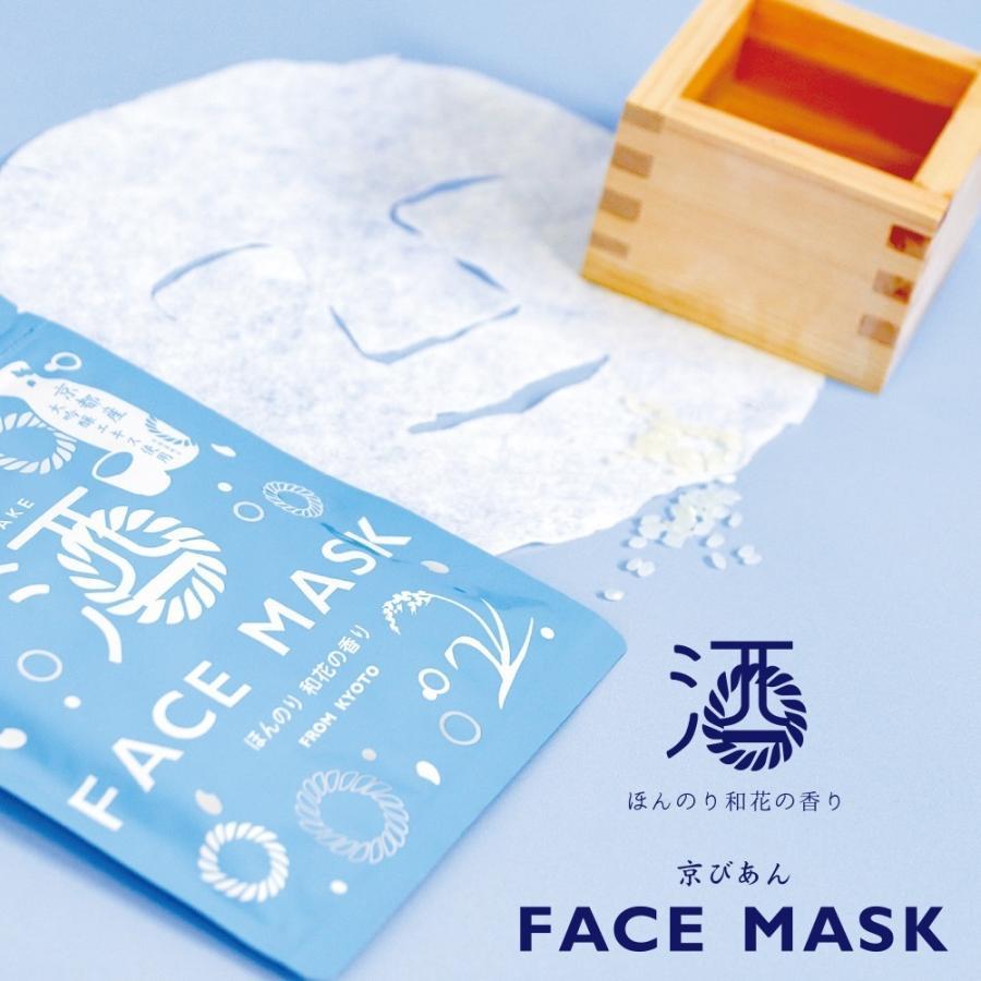 日本酒フェイスマスク